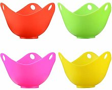 Wetest Cups (4 Pack) with Base Ring for Poached,