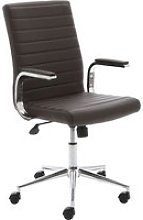Wexford Executive Bonded Leather Chair (Brown),