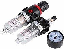 WFAANW 1/4 Air Filter Regulator Lubricator Water