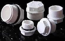 WFAANW 5Pcs 20mm- 32mm Male Thread PVC Pipe Plug