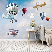 Wffmx Custom Photo Mural Wallpaper for Kids Room