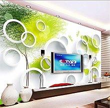Wffmx Custom Photo Wallpaper Abstract Tree 3D