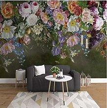 Wffmx Custom Size 3D Wall Mural Wallpaper European