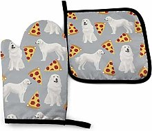 Wfispiy Great Pyrenees Pizza Red Golden Retriever