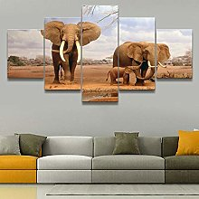 WFLWLHH Print On Canvas Posters & Prints Africa