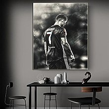 WFLWLHH Print On Canvas Posters & Prints Football
