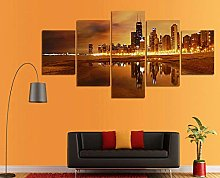 WFLWLHH Print On Canvas Posters & Prints Painting