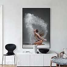 WFLWLHH Print On Canvas Posters & Prints Room