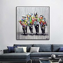 WFLWLHH Print On Canvas Posters & Prints Wall Art