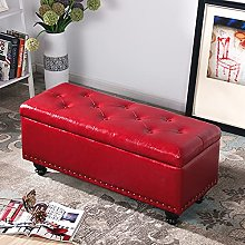 WFSH Changing His Shoes Stool Small Leather Stool