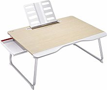 WFSH Laptop Desk, Portable Laptop Bed Tray Table,