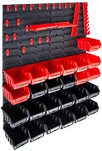 WFX Utility 29 Piece Storage Bin Kit With Wall