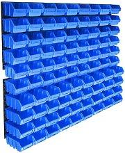 WFX Utility 96 Piece Storage Bin Kit With Wall