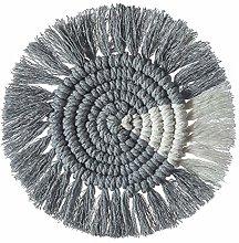 WFZ17 Hand-woven Color Block Cotton Heat