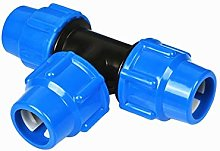 WGD Fa 1pc Pipe Connector, Pipe Fittings Three-way