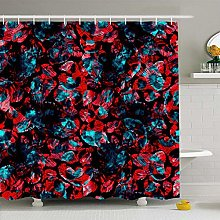 WGEMXC Funny Decorative Shower Curtain Shower