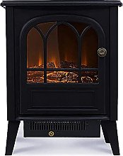 WGFGXQ Electric Fireplace Infrared Stove Heater,