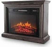 WGFGXQ Fireplace Electric Fireplace, Realistic
