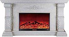 WGFGXQ Fireplace Electric Fireplace with Mantel