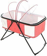 Wghz Baby Cot Anti-Fall Baby Travel Bed Simple 3D