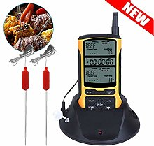 Wghz Meat Thermometer, Wireless BBQ Thermometer