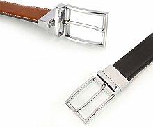 Wguili Men's Belts Men's Belt Rotating Pin