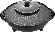 Wgwioo Electric Hot Pot And Bbq Grill, 2 in 1