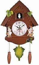 Wgwioo Minimalist Modern Design Cuckoo Clock,
