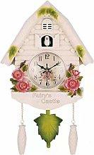 Wgxssjc Alarm clock Cute Bird Wall Clock Cuckoo