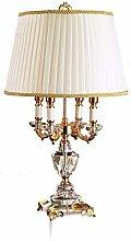 Wgxssjc Table lamp Modern Crystal Lamp lighting