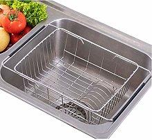 WGYDREAM Kitchen Rack Shelf Dish Drainer Rack