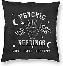 WH-CLA Throw Pillow Covers Psychic Readings