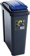 Wham Recycling Bin 25Ltr Blue (300136)