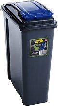 Wham Recycling Bin 25Ltr Blue by Wham