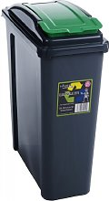 Wham Recycling Bin 25Ltr (Green)
