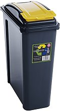Wham Recycling Bin 25Ltr (Yellow)