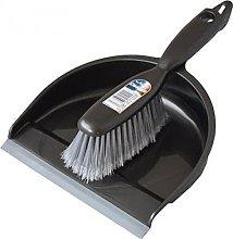 Wham Unknown Dustpan & Brush Set Graphite,