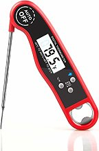 WHATOOK Digital Instant Read Meat Thermometer for