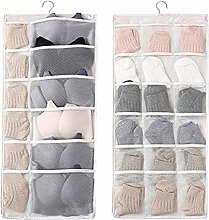 whatUneed Hanging Storage Organiser with Large and