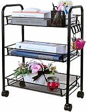 WHBSZCDH Kitchen Storage Trolleys, Storage Trolley