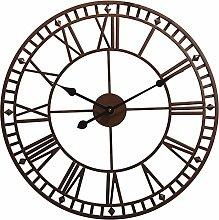 WHCCL Outdoor Garden Wall Clock Weatherproof with