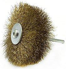 Wheel Copper Wire Brush Brush for Mini Drill