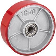 Wheel for pallet truck polyurethane roller 180x50