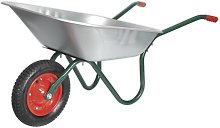 Wheelbarrow 65L Galvanized - Sealey