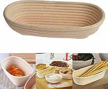 whelsara Bread Bins Bread Storage Basket Oval