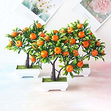 Whiie891203 1Pc Artificial Fruit Orange Tree