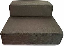 Whiie891203 Stairs & Steps for Dogs,2-Step Mesh