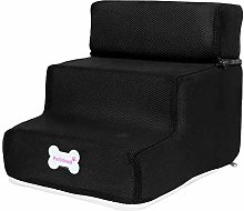 Whiie891203 Stairs & Steps for Dogs,3 Steps