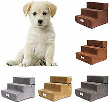 Whiie891203 Stairs & Steps for Dogs,3 Steps Stairs