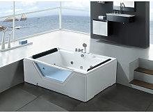 WHIRLPOOL BATH TUB Linda HOT TUB 170x120cm WITH